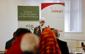 Bhai Sahib Addresses the Audience