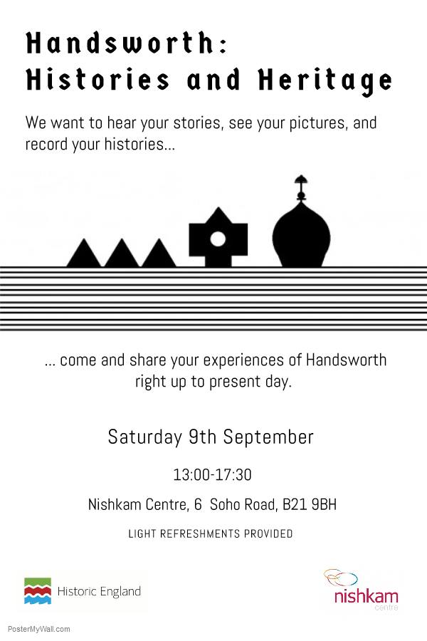 Handsworth Histories and Heritage